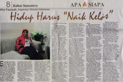 "Kabar Sumatera Sabtu - Hidup Harus ""Naik Kelas"""