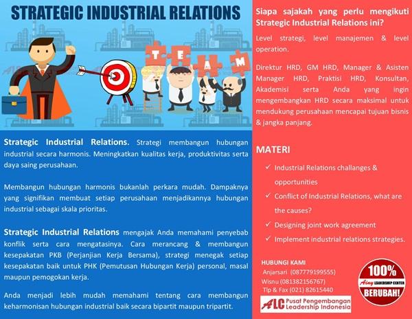 Strategic-Industrial-Relations-publik-training-leadership-seminar-pelatihan-hrd-procurement-management.